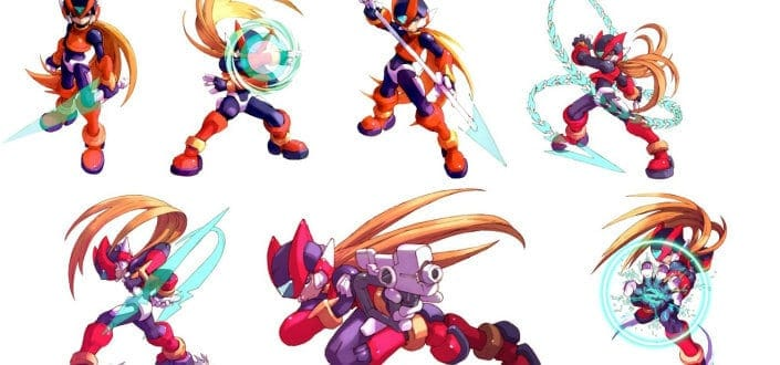 Megaman zero- Know Your Weapons and Elements