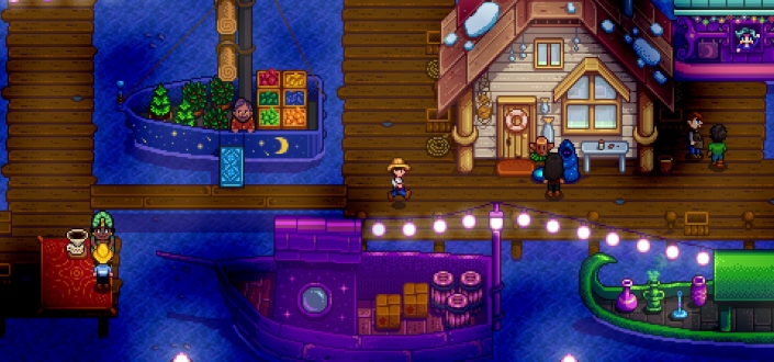 stardew valley - Don't Stay Up Too Late