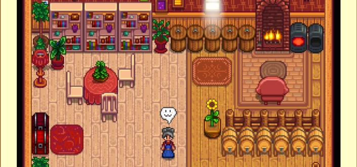 stardew valley - Watch TV Every Morning