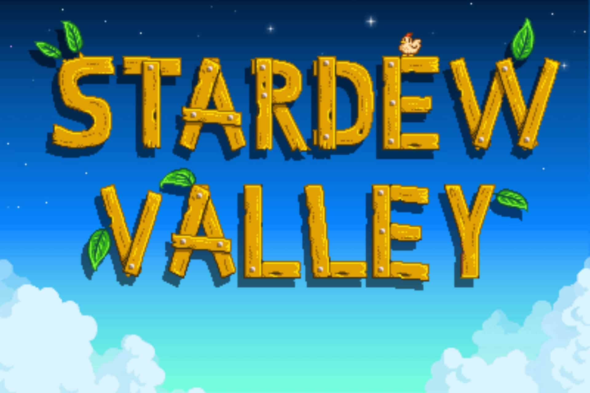 stardew valley - main