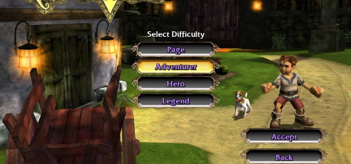 Step 1 Choose Your Difficulty