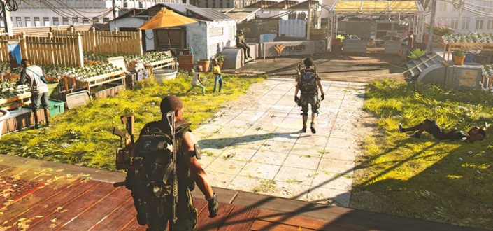the division 2 - Get to the End Game