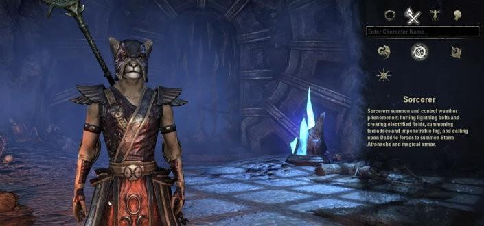 elder scrolls online - sorcerer