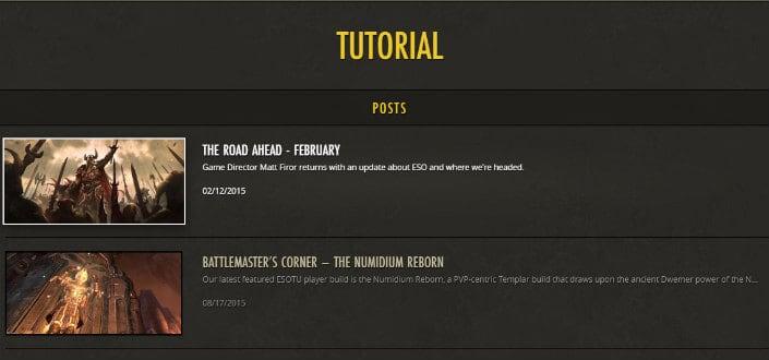 elder scrolls online - step 2