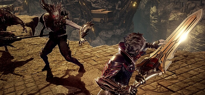 Code Vein -Get a Feel for Your Spells and Weapons