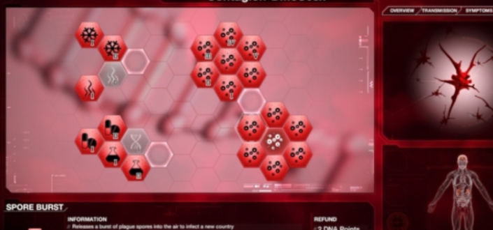 Plague inc fungus - use your fungus abilities