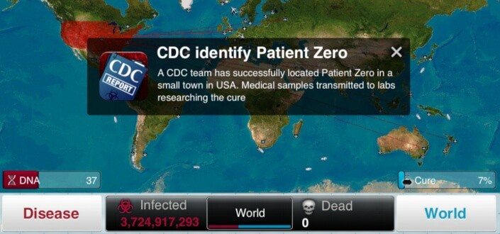 Plague Inc. Parasite - Start somewhere hot