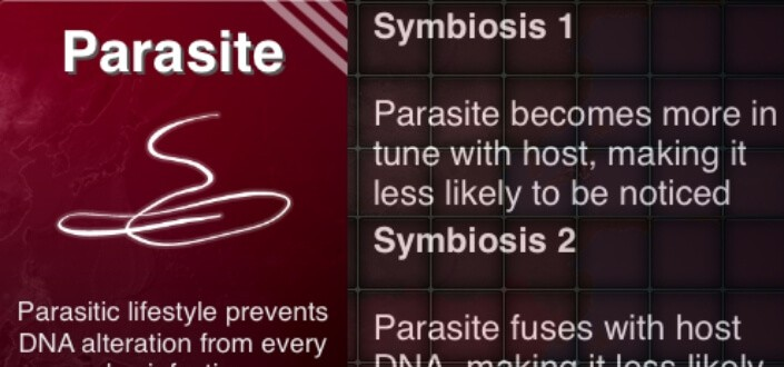 Plague Inc. Parasite - symbiosis