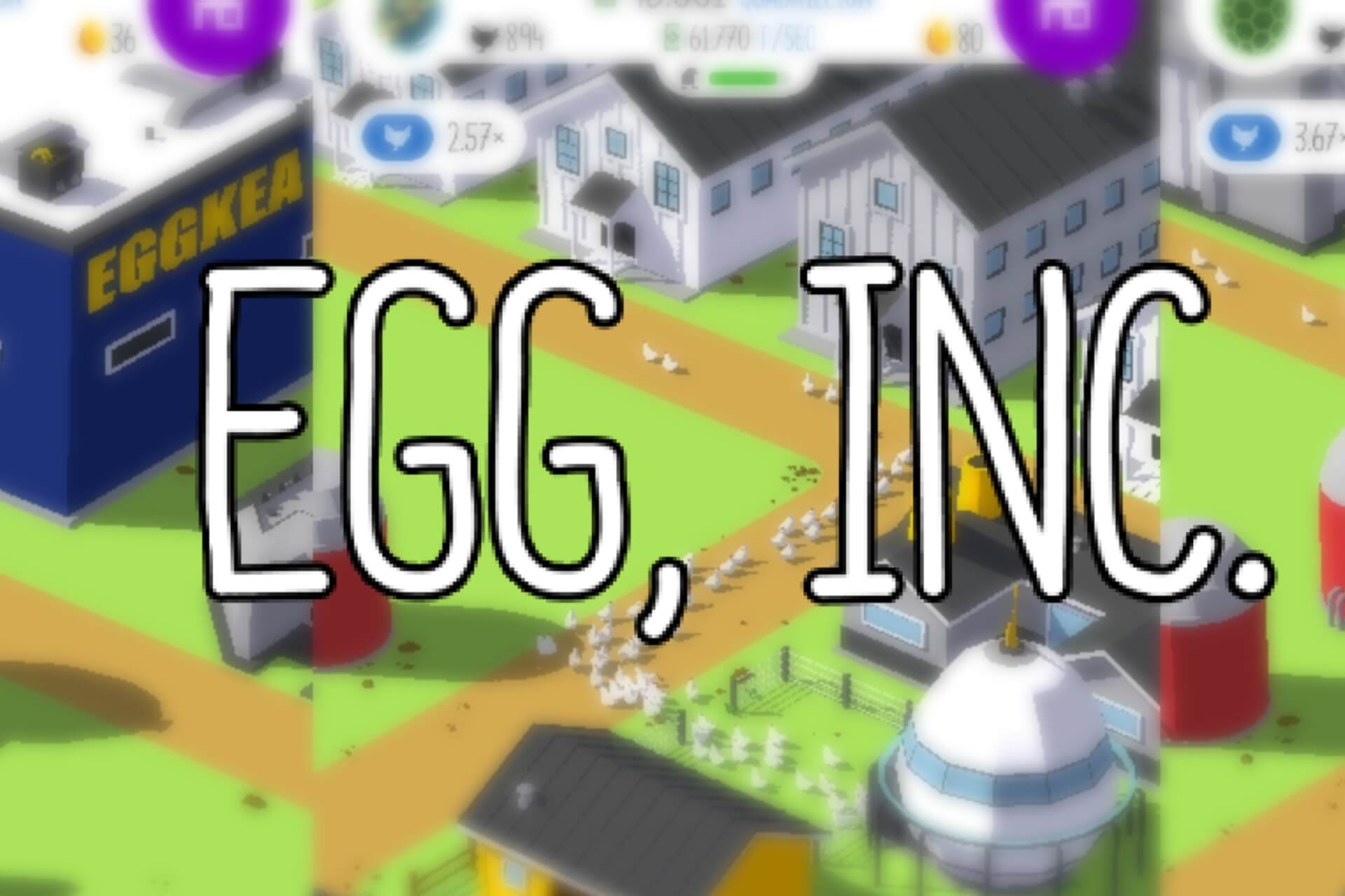 egg inc cheats - featured