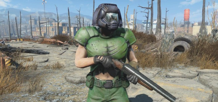 fallout 4 - Armor System