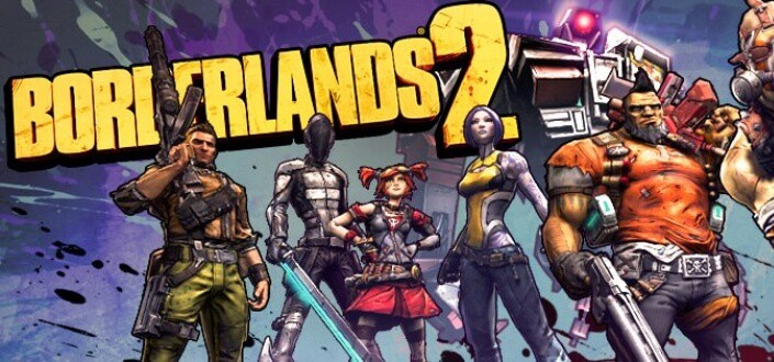 Borderlands 2 - Choose Your Character Class