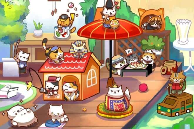 Neko Atsume - Post