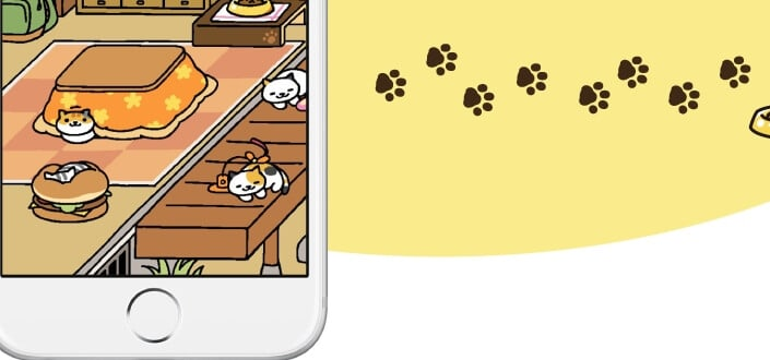Neko Atsume - Step 5 Wait