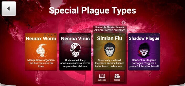 Plague Inc - 1. Choose Your Disease