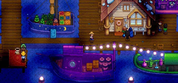 Stardew Valley - 5. Don't Stay Up Too Late