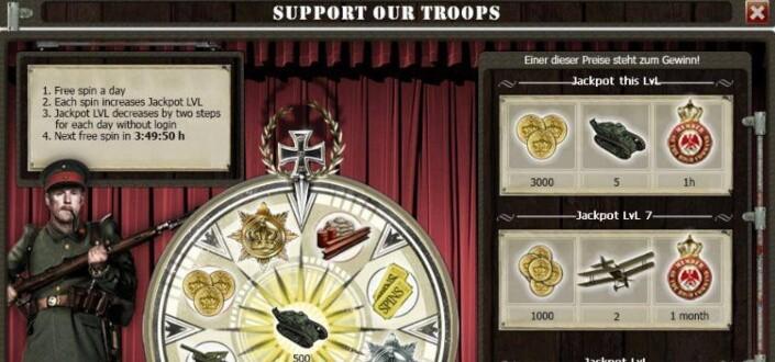 Supremacy 1914 - Step 1 Start Recruiting