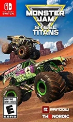 Best Nintendo Switch games for Kids - Monster Jam Steel Titans