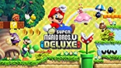 Best Nintendo Switch games for Kids - New Super Mario Bros. U Deluxe