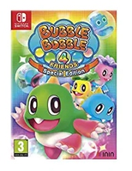 Nintendo Switch Multiplayer Games for Kids - Bubble Bobble 4 Friends