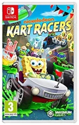 Nintendo Switch Multiplayer Games for Kids - Nickelodeon Kart Racers