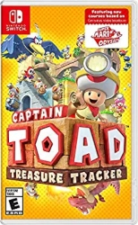 Nintendo Switch Multiplayer games for Kids - Captain Toad Treasure Tracker
