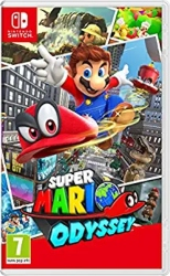 Nintendo Switch Multipllayer Games for Kids - Super Mario Odyssey