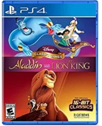 best ps4 games for kids - Disney Classic Games Aladdin and The Lion King