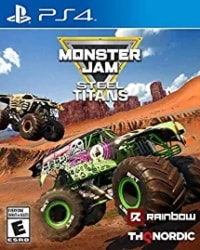 best racing ps4 games - Monster Jam Steel Titans