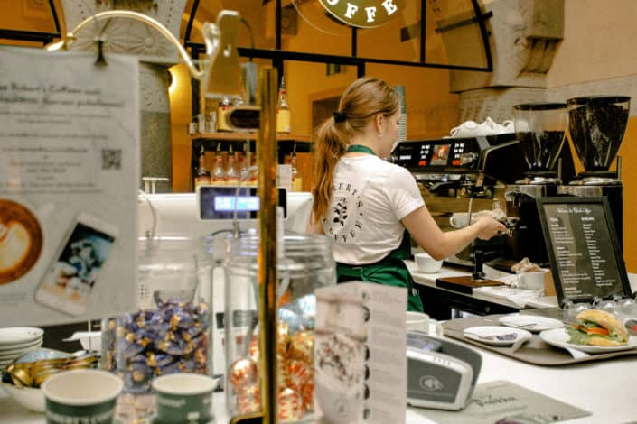 Frappuccino that won't stop brewing