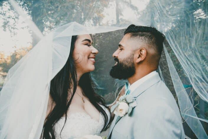 couple having their wedding photoshoot