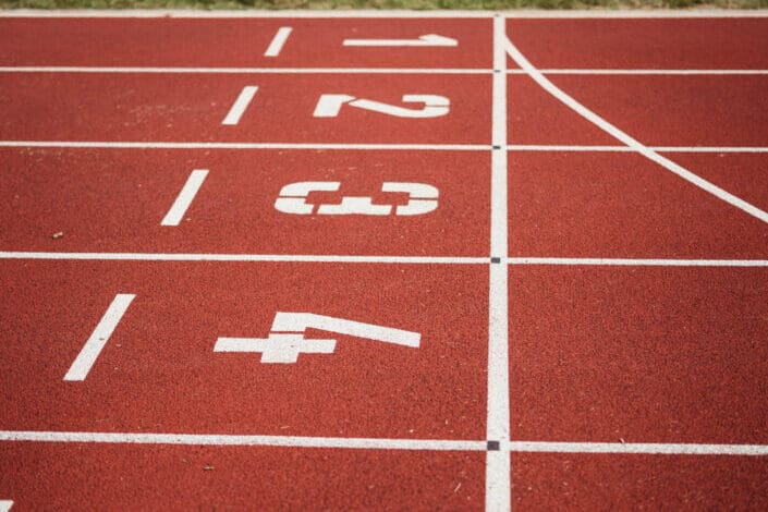 a track and field track